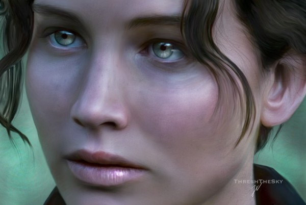 Katniss Everdeen by ThreshTheSky