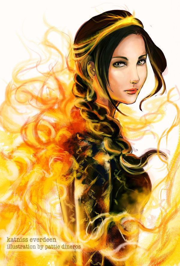Katniss Everdeen by Patsie