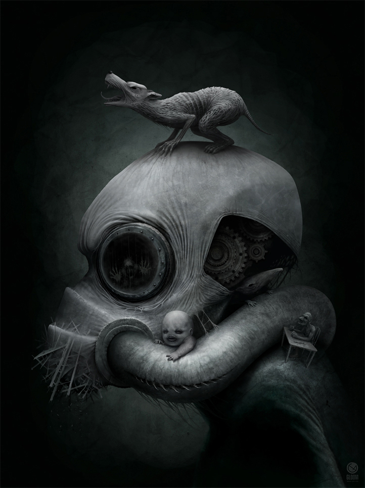 """BRAZ mechanics destroying"" by Anton Semenov"
