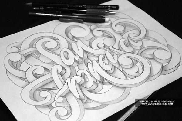 San Francisco Lettering | Marcelo Schultz