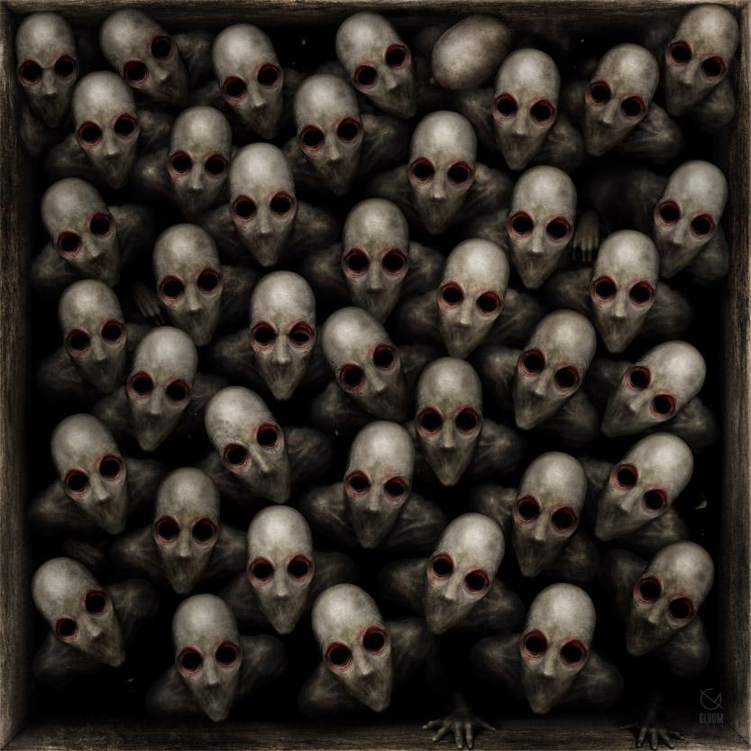 """""""Auschwitz"""" by Anton Semenov"""