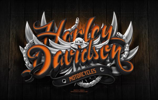 Harley Davidson Poster | Marcelo Schultz