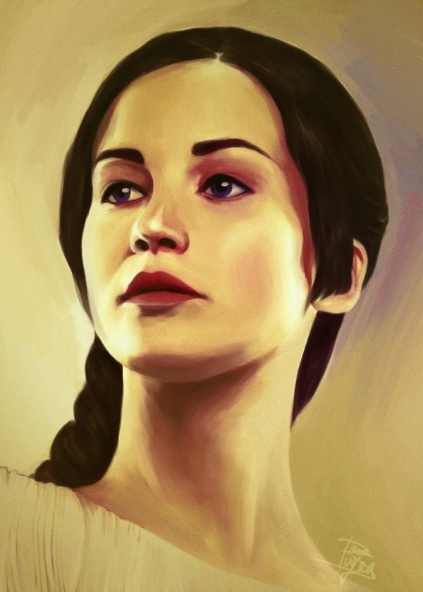 Katniss by themockingmirror