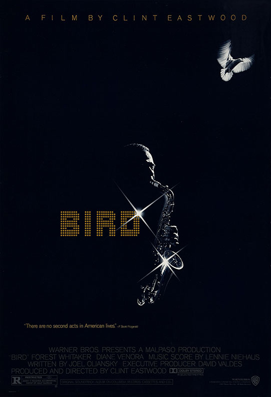 Bird movie poster design by Bill Gold