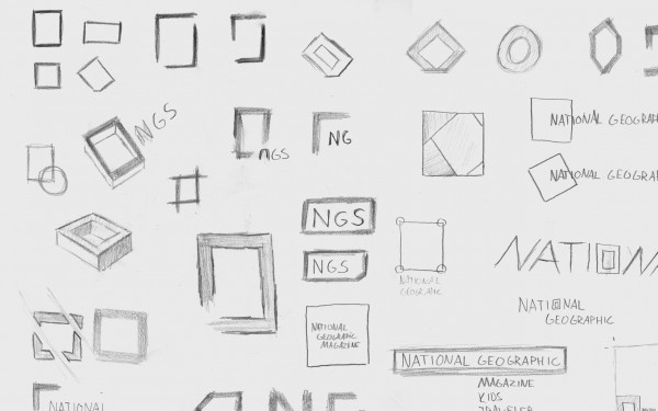 Rough Sketches of the logo