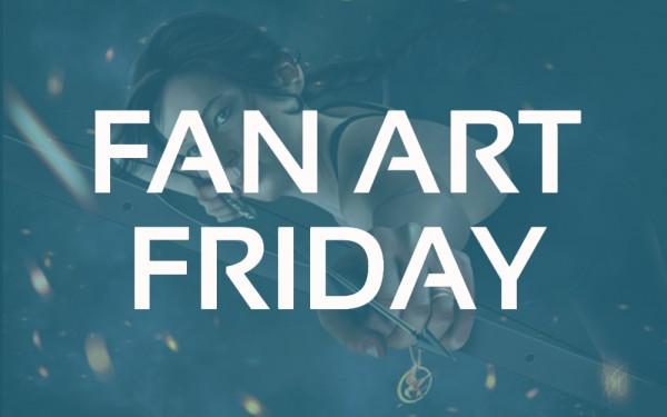 Fan Art Friday – 20 Illuminating Artworks Featuring Jennifer Lawrence