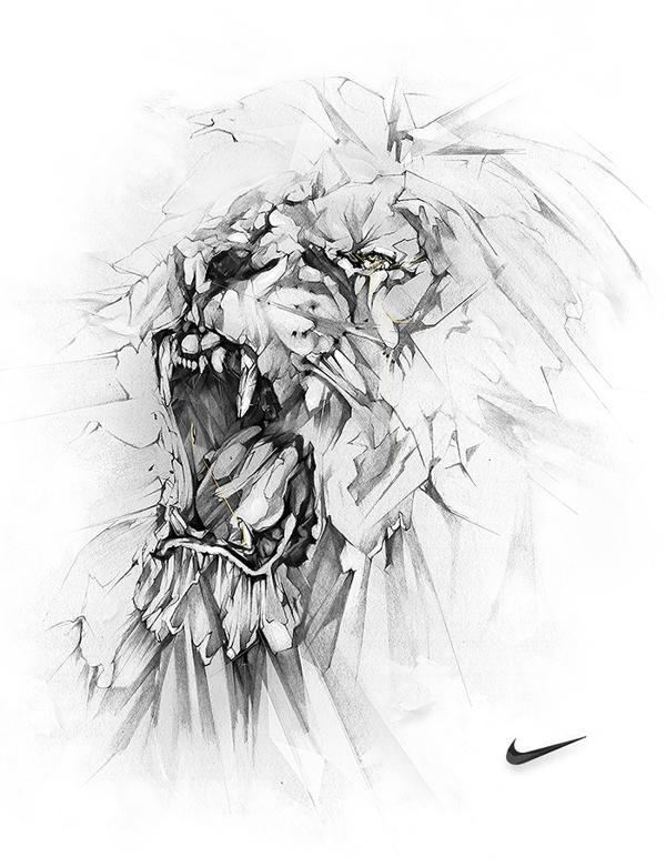 Nike Lion   Alexis Marcou