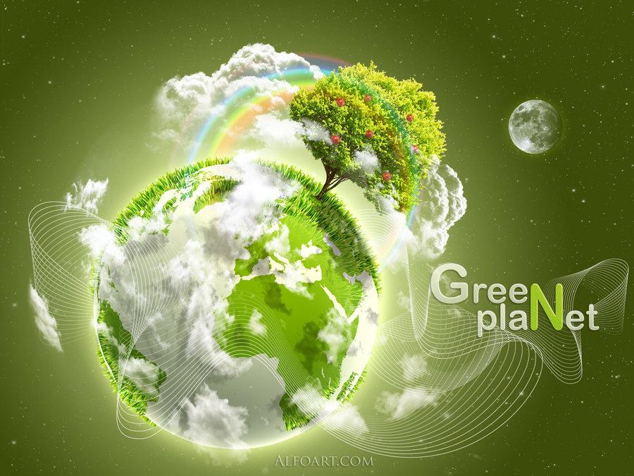 Cool Artworks Celebrating Earth Day