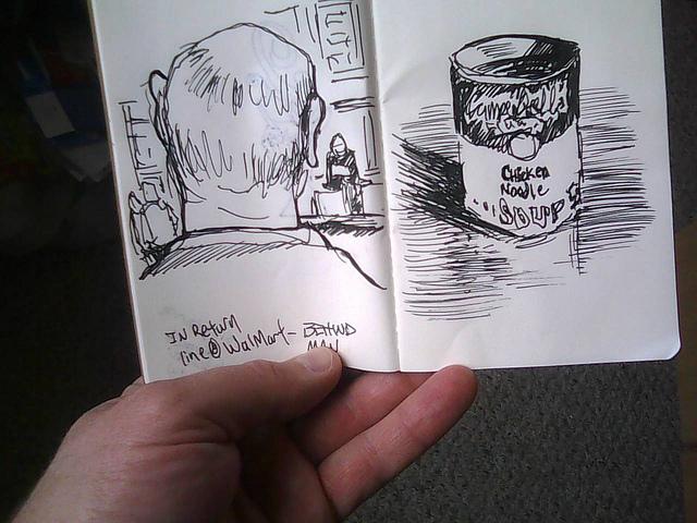 Pocket sketches by SketchySteven