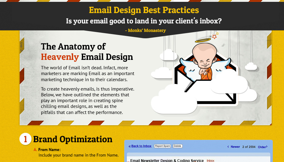 Infographic email design best practices pronofoot35fo Gallery