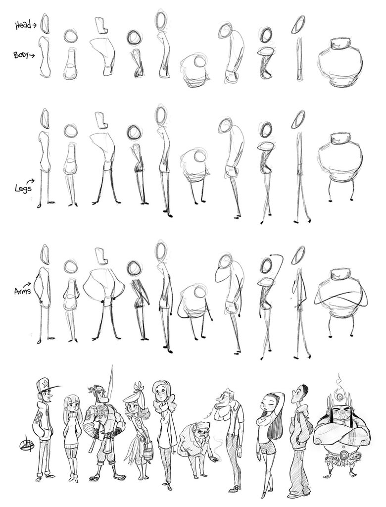 Character Sketch Process | LuigiL