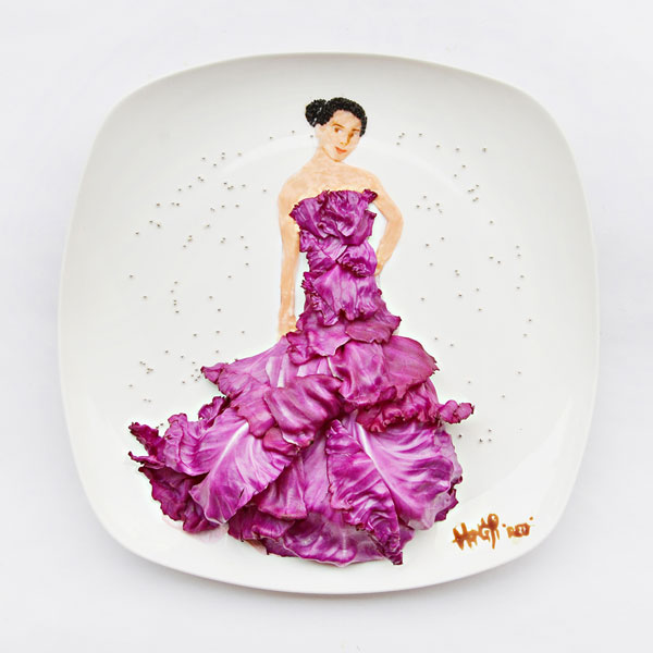 Red cabbage Marchesa Salad