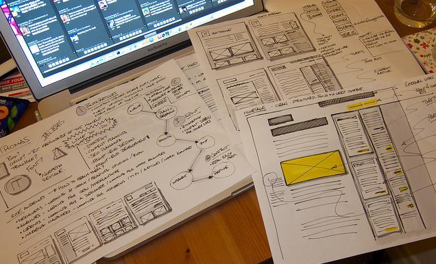 Initial ideas for a new blog design | Anatom!c