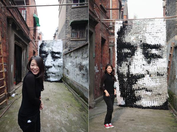 Zhang Yimou's Portrait by Hong Yi