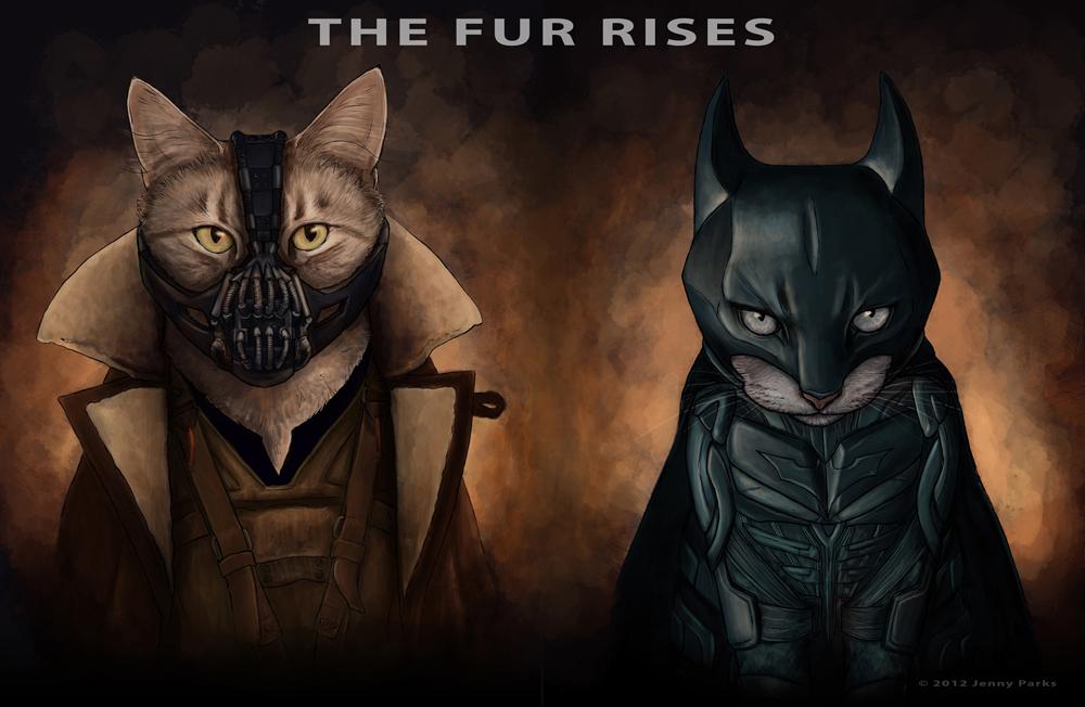 The Fur Rises | Jenny Parks Illustration