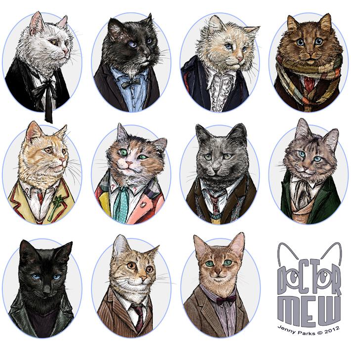 Doctor Mew | Jenny Parks Illustration