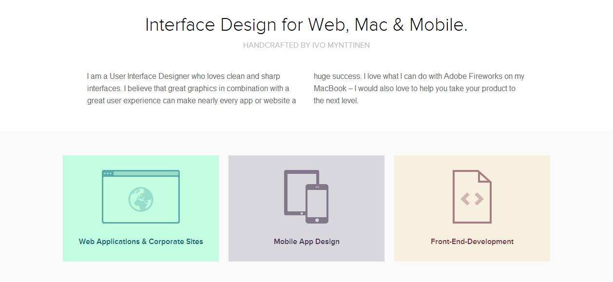 A Showcase of Flat Design Websites