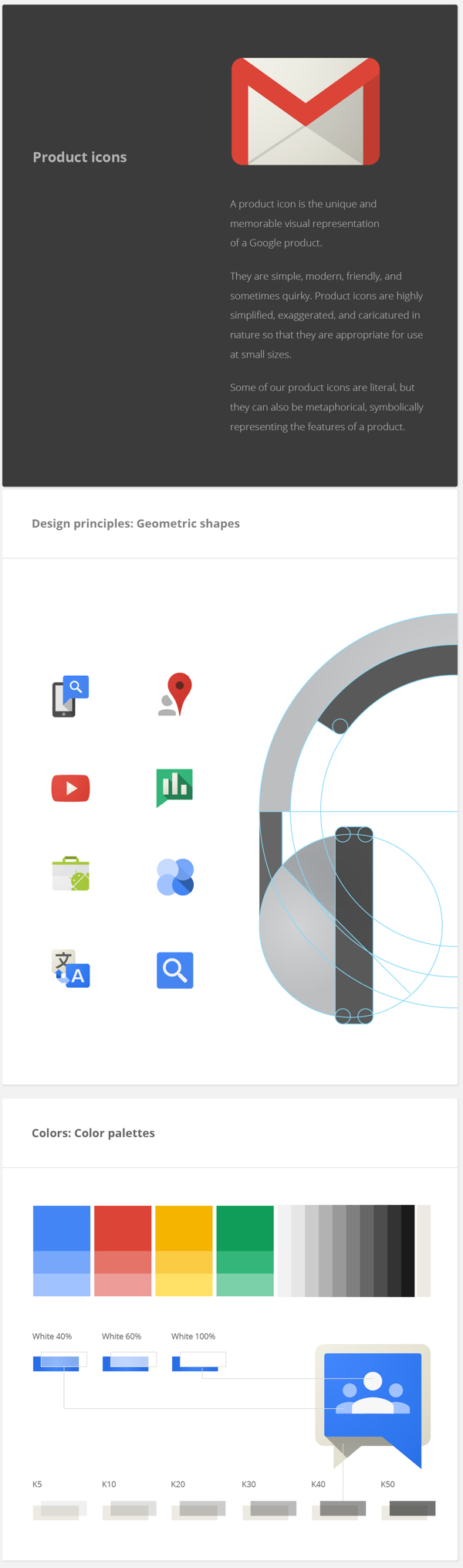 Google Visual Assets Guidelines | Product Icons