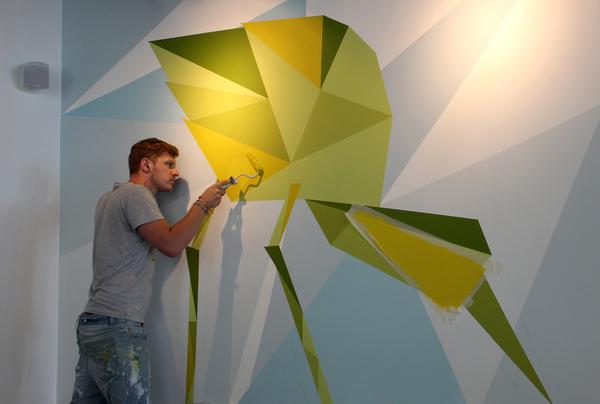 Bird Murals | Tobias Hall
