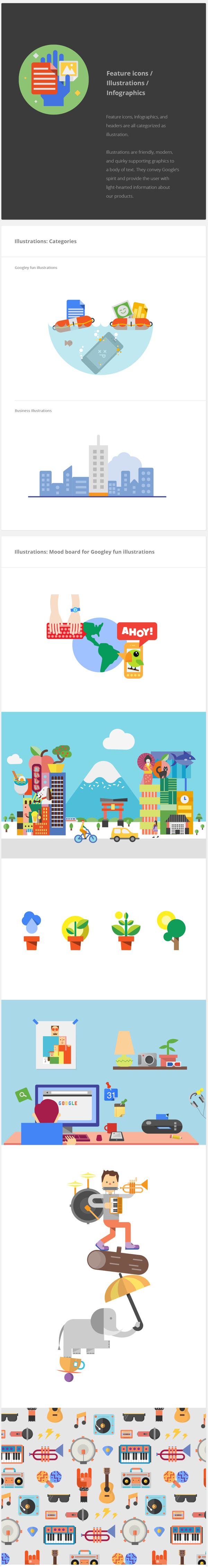 Google Visual Assets Guidelines | Illustrations