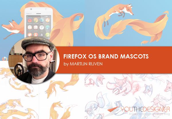 Firefox OS Brand Mascots by Martijn Rijven - You The Designer