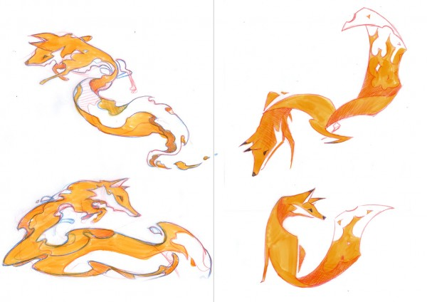 Firefox OS Brand Mascots | Early Concepts