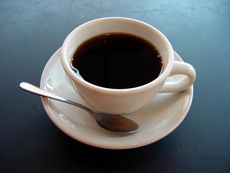 Julius Schorzman - A Small Cup of Coffee via Wikimedia Commons CC