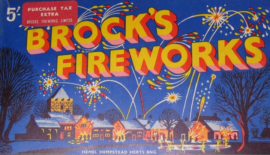 Independence Day Fireworks Vintage Packaging