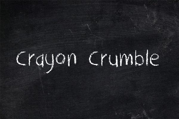 DK Crayon Crumble