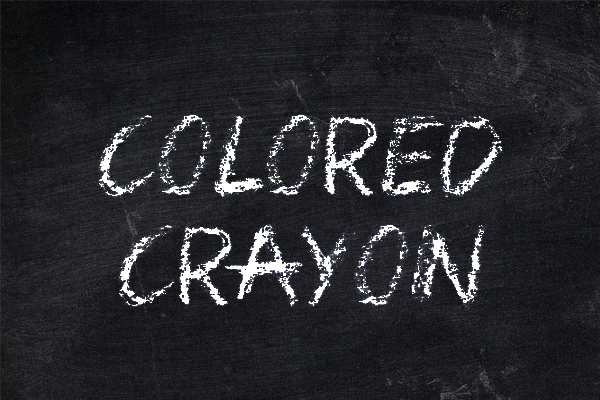 Colored Crayon