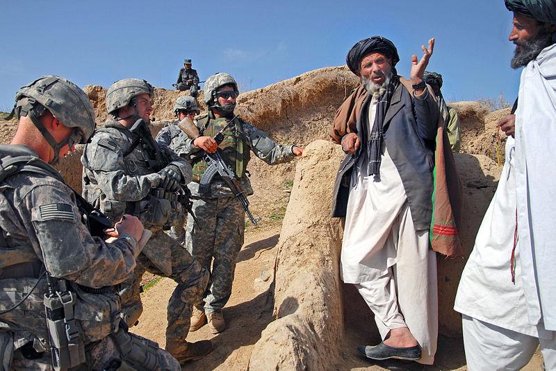 Talking_to_village_elders,_Zabul,_Afghanistan