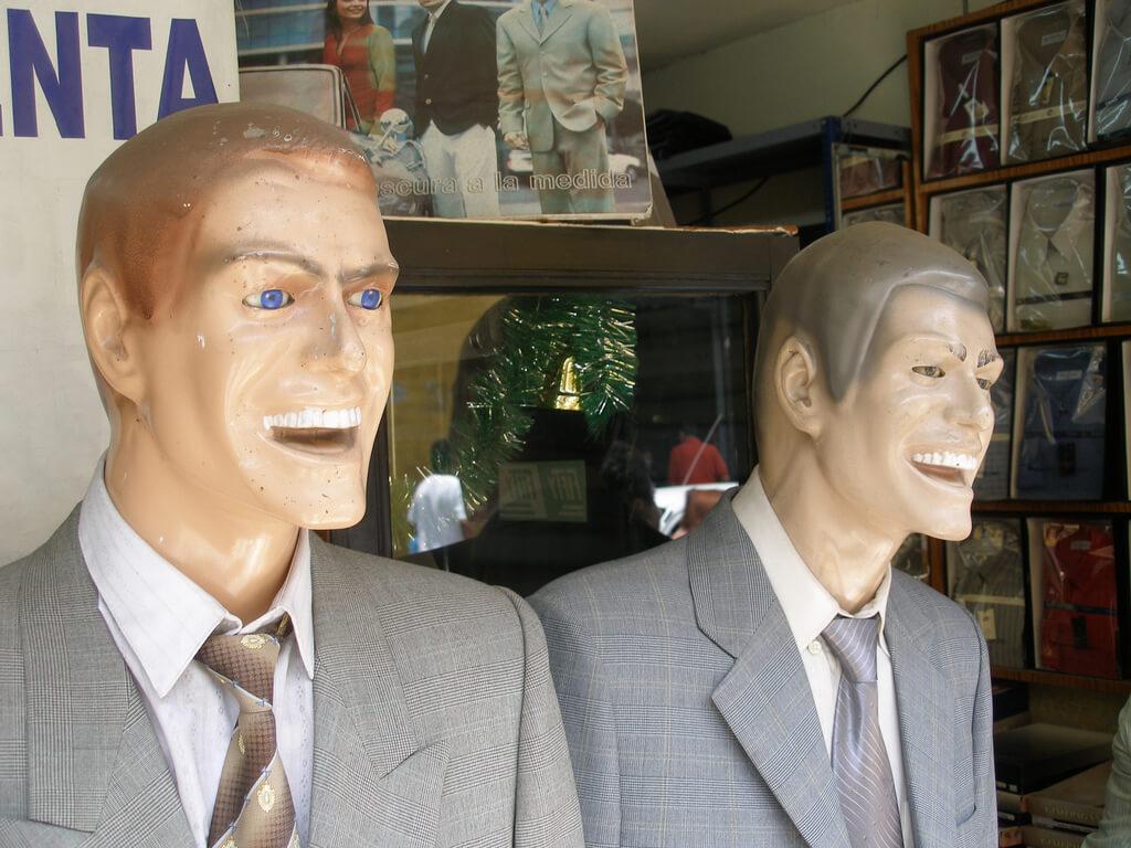 Mannequins - quinet via photopin cc