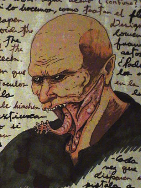 A Peek at Guillermo Del Toro's Sketchbook