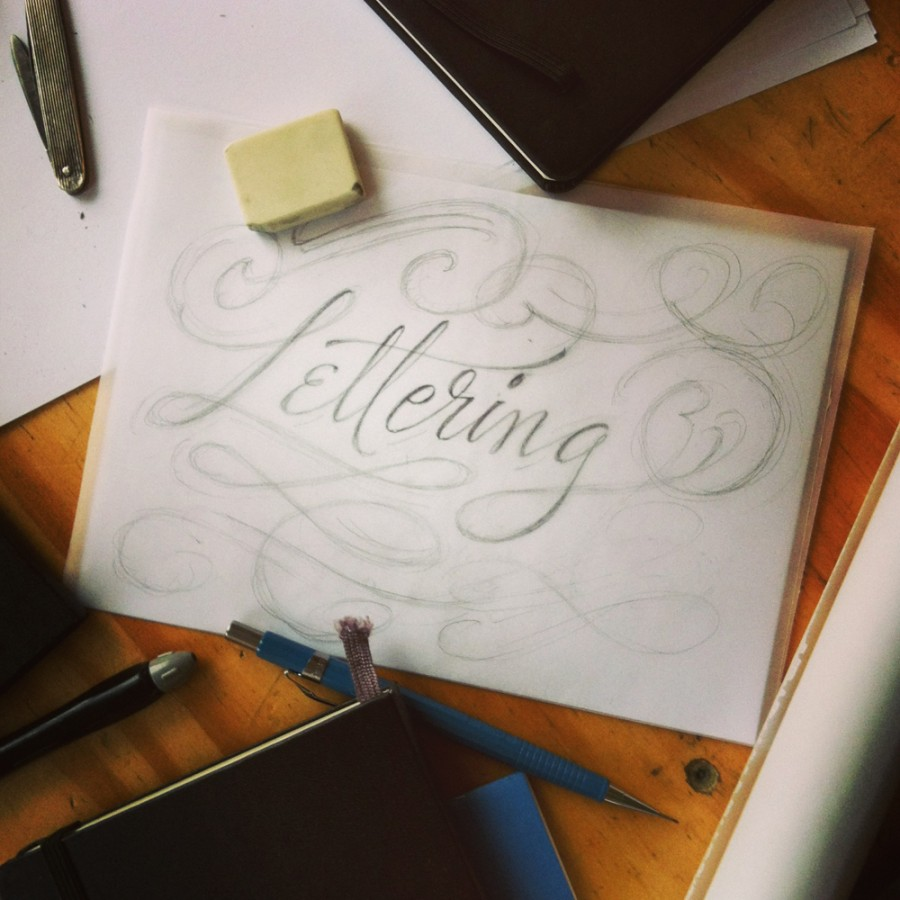 Typography and Lettering by Martina Flor