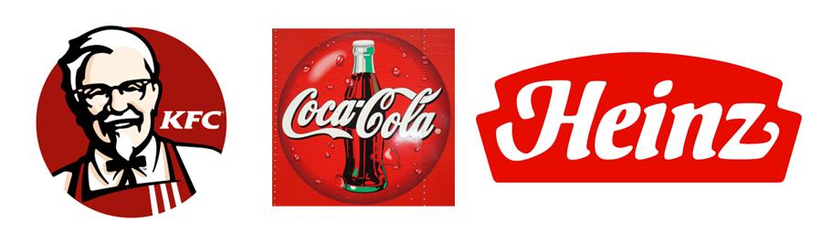 Logo Design with Color Psychology - RED