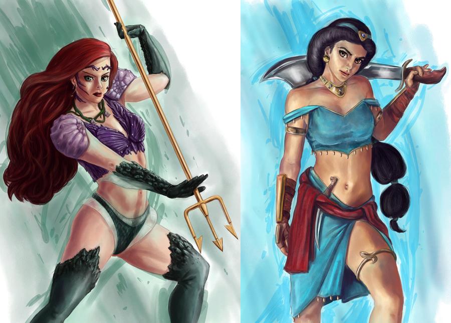 Disney Fighters by JoshWMC