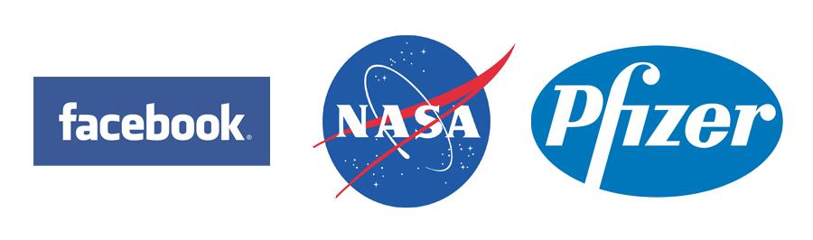 Logo Design with Color Psychology - BLUE