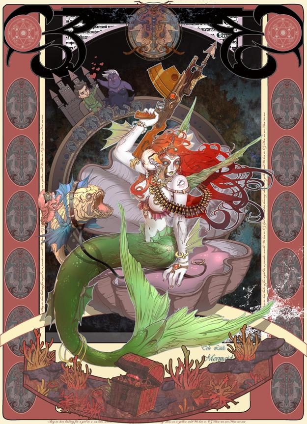 The Little Mermaid Steampunk by Inshoo