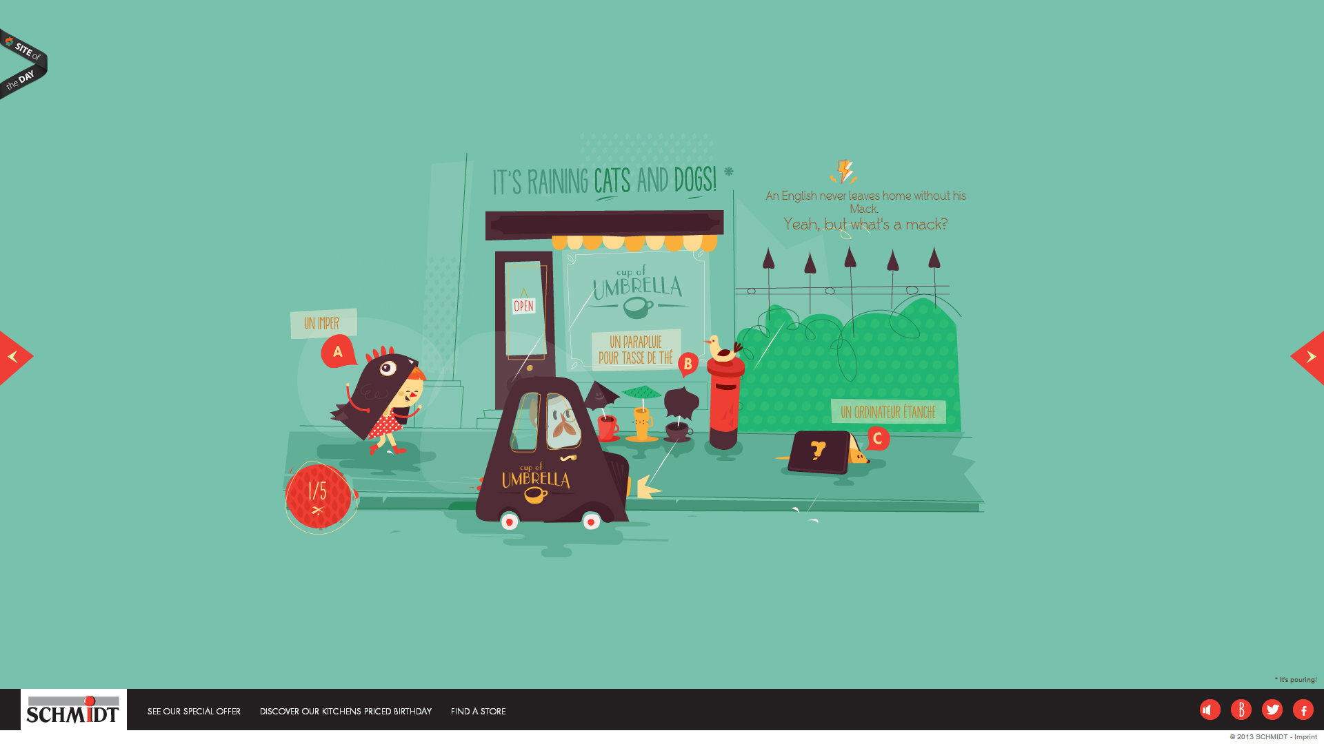 Awesome Web Design Of The Week Une Cuisine Astucieuse