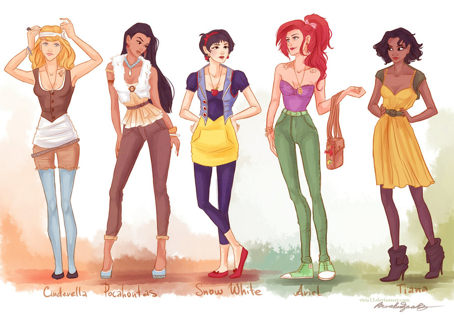 Fashion Princesses by Viria
