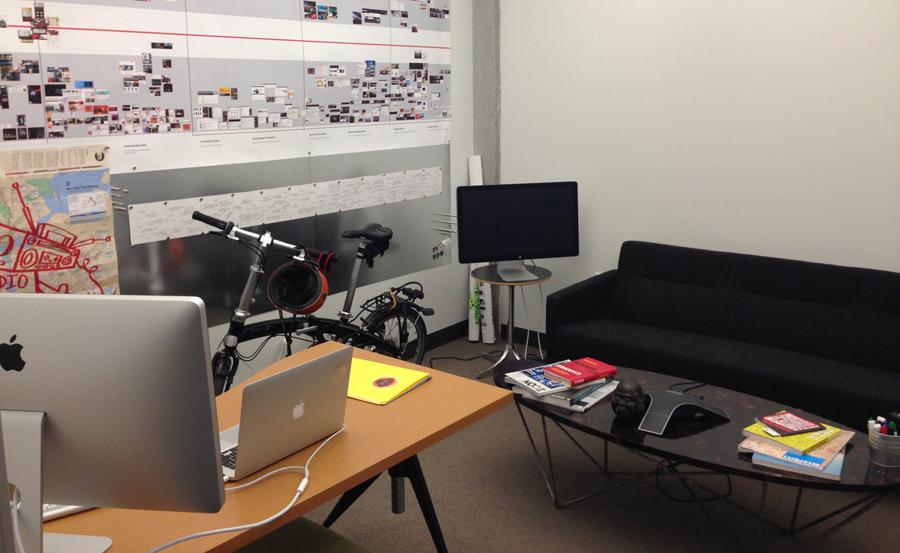 Karl's Office at Adobe