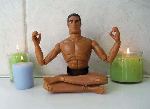 Meditate: merwing✿little dear via photopin cc