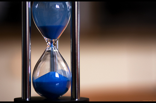 Hourglass: flod via photopin cc