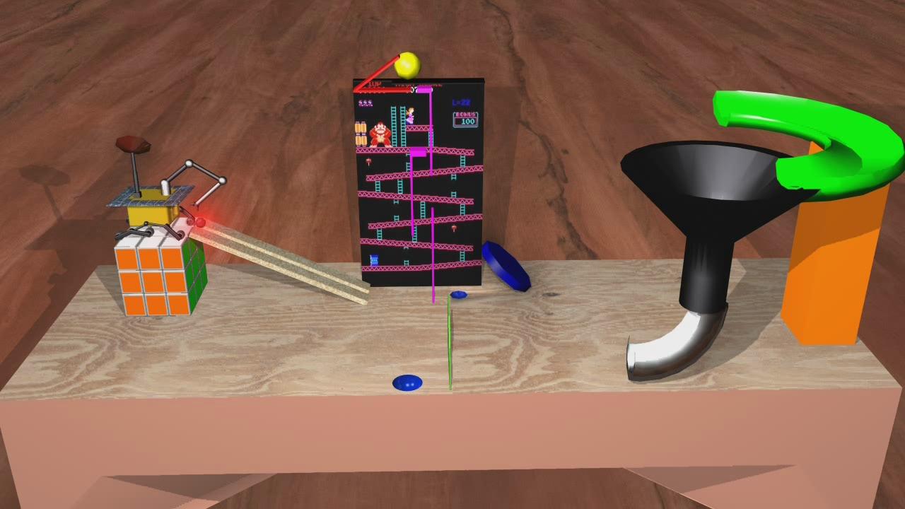 Rube Goldberg Device: whosdadog via photopin cc