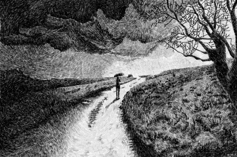 Black Rain by Nicolas Jolly