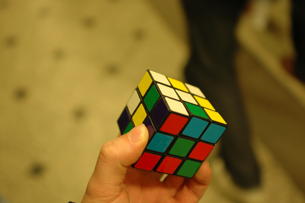 Rubic's Cube: baracoder via photopin cc