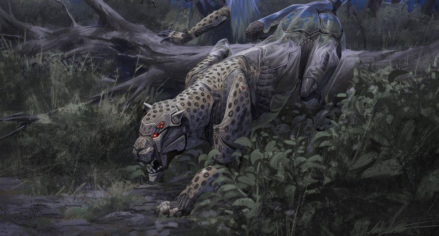 Deviantart Robot Animals: Artist Supports Anti-Poaching Campaign Through A Series Of