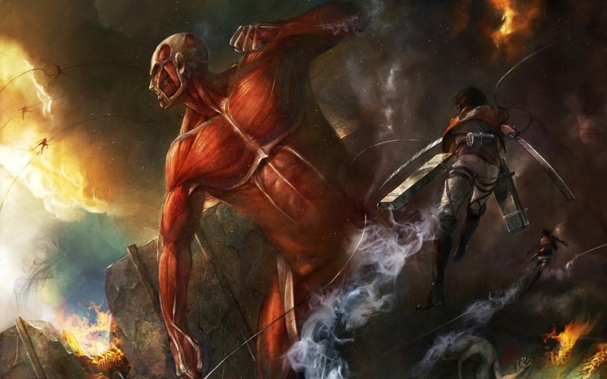 Attack on titan by taitsu22