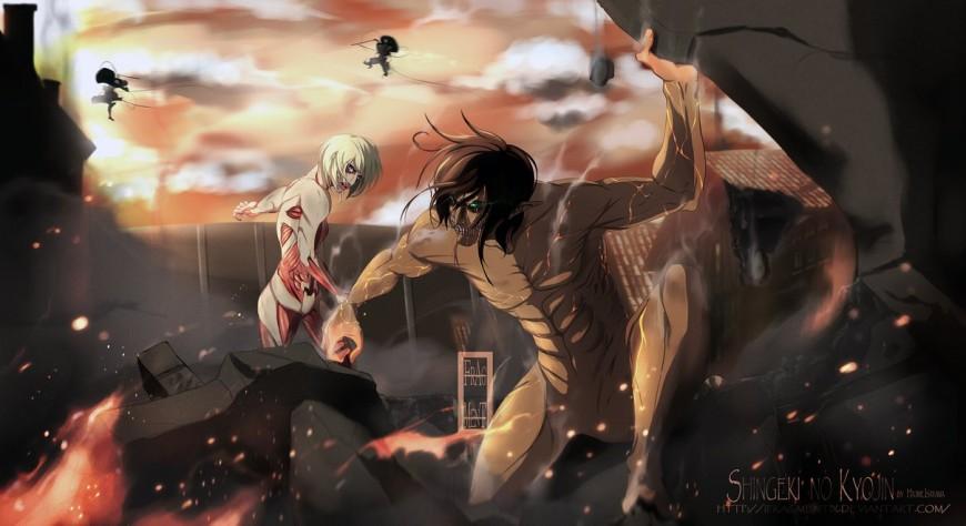 Shingeki no Kyojin - Throw Away your Humanity by IFrAgMenTIx