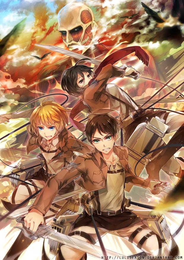 Attack on Titan by LuluSeason